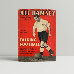 alf ramsey talking football first uk edition 1952 img 3009