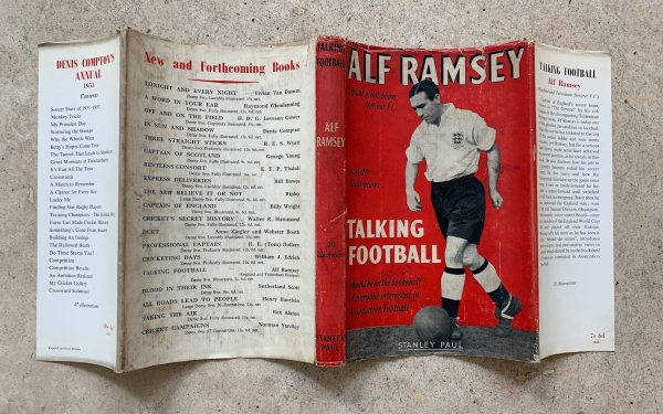 alf ramsey talking football first uk edition 1952 img 8429
