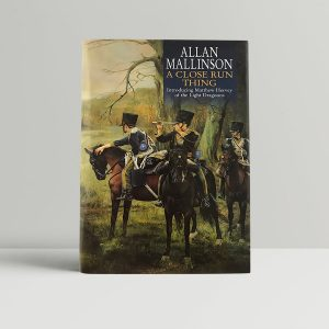 allan mallinson a close run thing first uk edition 1999 fine