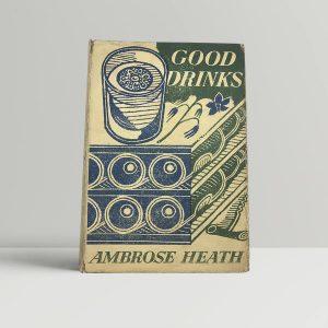 ambrose heath good drinks first uk edition 1939