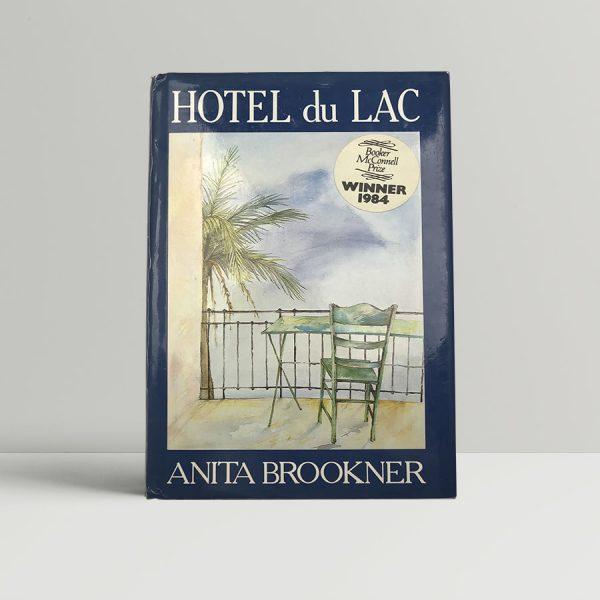anita brookner hotel du lac first uk edition 1984 signed