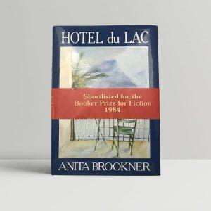 anita brookner hotel du lac first uk edition 1984 signed band
