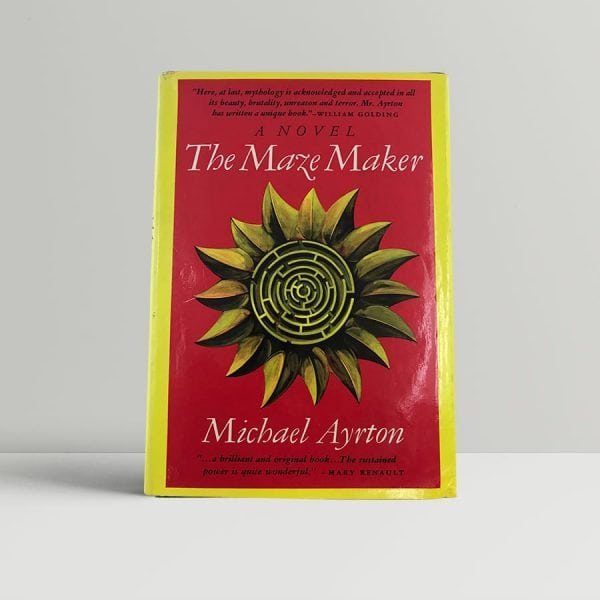 ayrton michael the maze maker first us edition signed