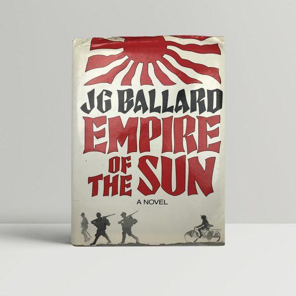 ballard j g empire of the sun first uk proof