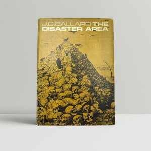 ballard j g the disaster area first uk edition