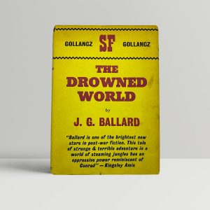 ballard j g the drowned world first uk edition