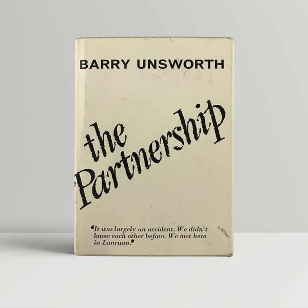 barry unsworth the partnership first uk edition 1966