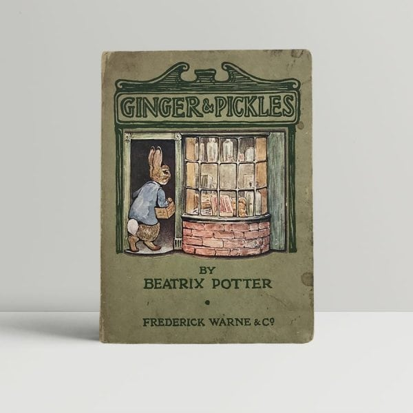 beatrix potter ginger and pickles first uk edition 1909