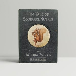 beatrix potter squirrel nutkin first uk edition 1903
