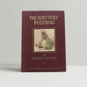 beatrix potter the roly poly pudding first uk edition 1908