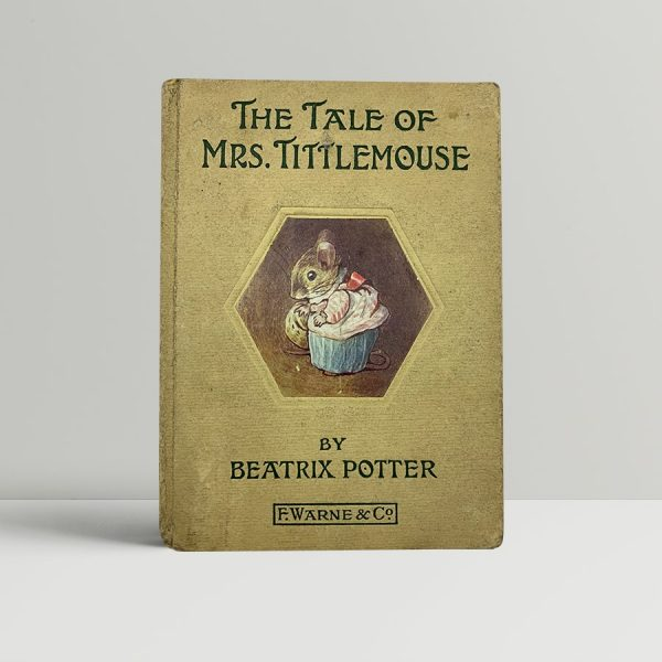 beatrix potter the tale of mrs tittlemouse first uk edition 1910