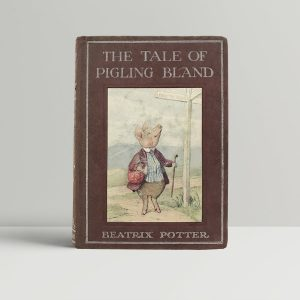 beatrix potter the tale of pigling bland first uk edition 1913
