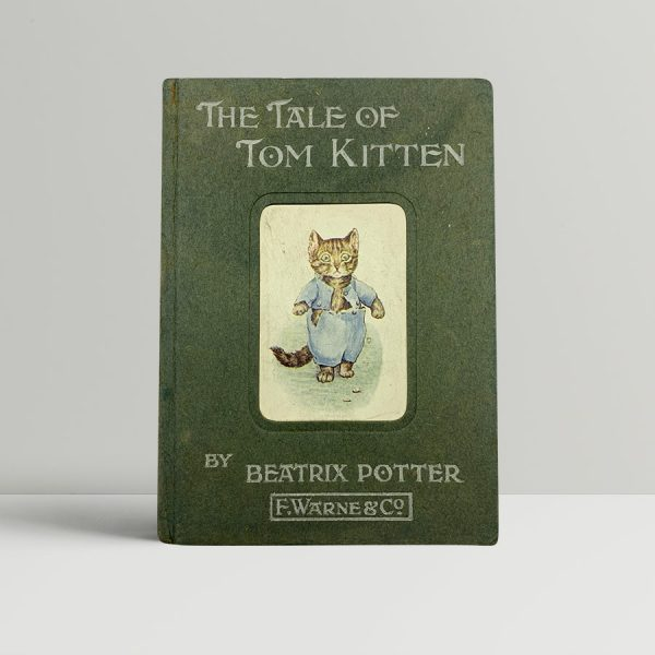 beatrix potter the tale of tom kitten first uk edition 1907