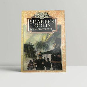 bernard cornwell sharpes gold first uk edition 1981 signed