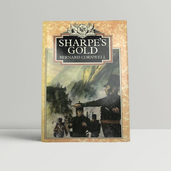 bernard cornwell sharpes gold first uk edition 1981 signed