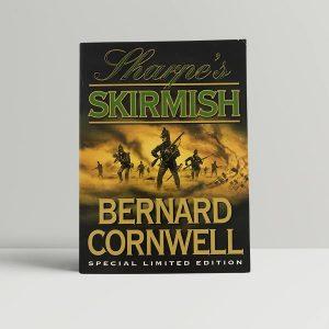 bernard cornwell sharpes skirmish first uk edition 1999 signed