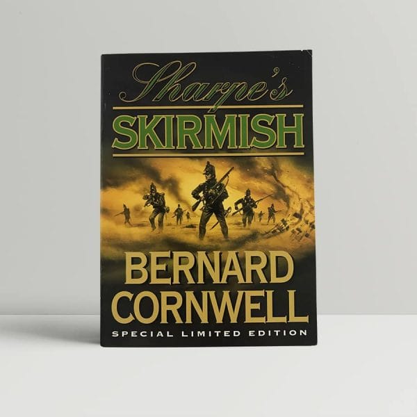 bernard cornwell sharpes skirmish first uk edition 1999 signed