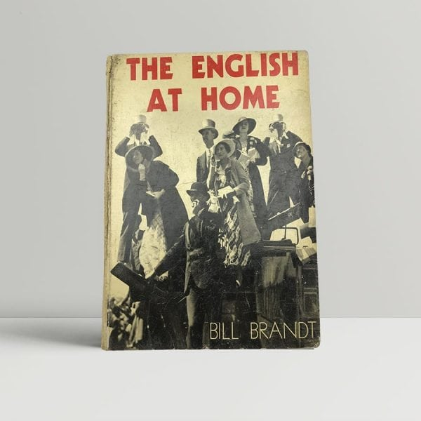 bill brandt the english at home first uk edition 1936
