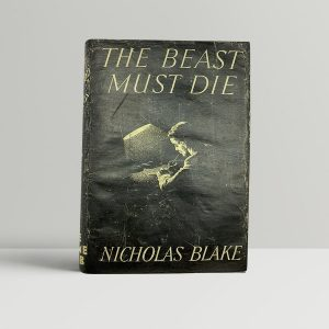blake nicholas cecil day lewis the beast must die first uk edition 1938
