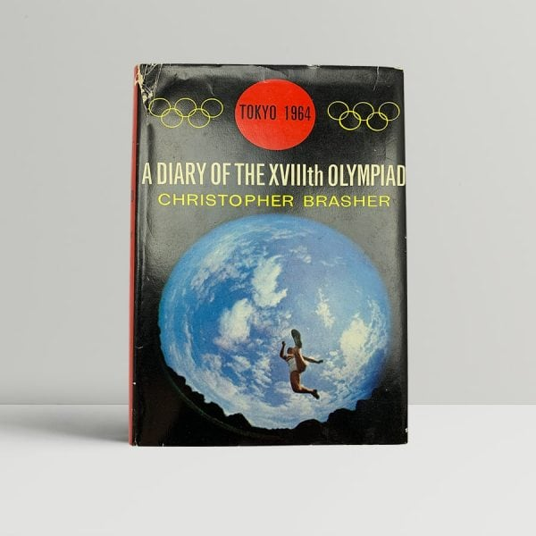 brasher christopher roger bannister and harold abrahams a diary of the xviiith olympiad signed by all three