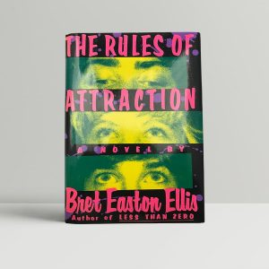 bret easton ellis the rules of attraction first us edition 1987 signed and inscribed