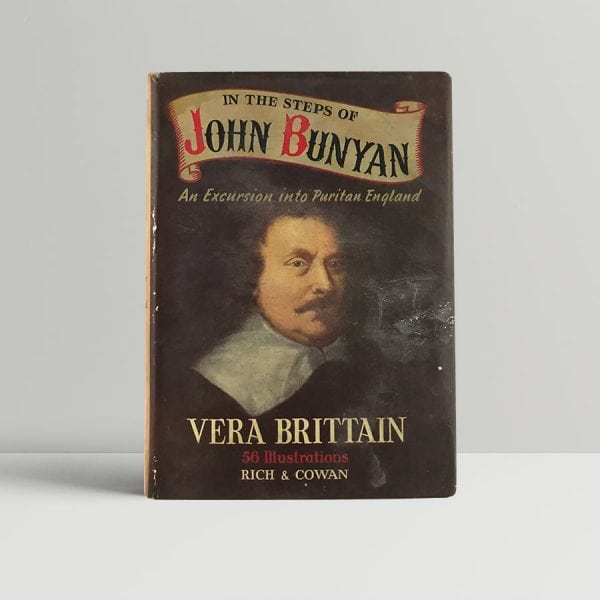 brittain vera in the steps of john bunyan first uk edition signed