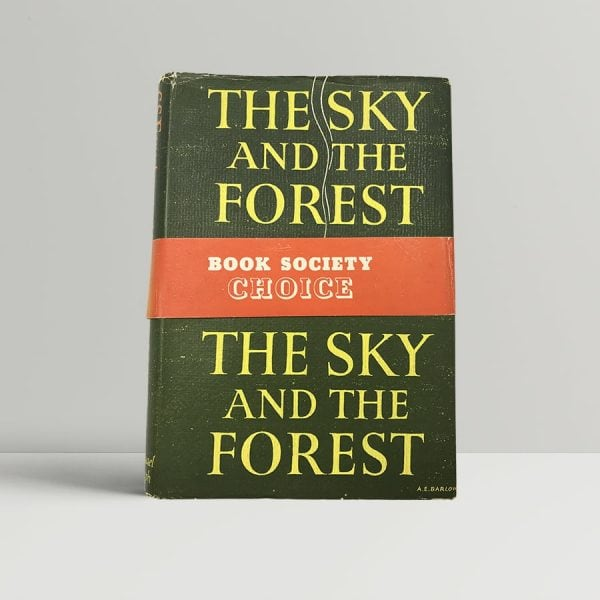 c s forester the sky and the forest first uk edition 1948