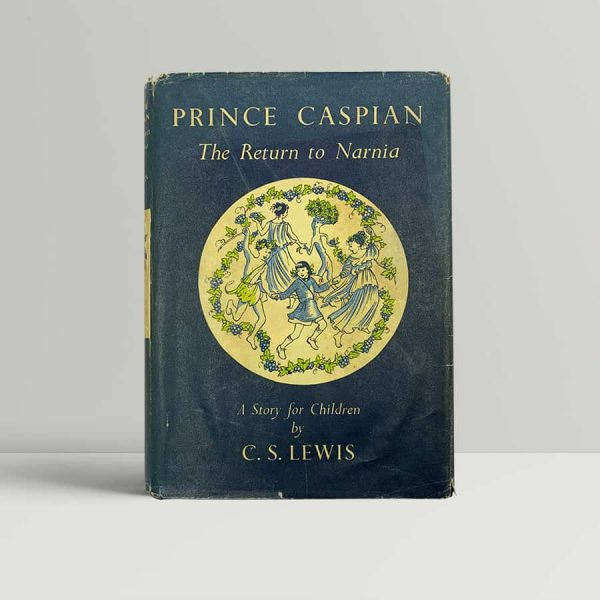 c s lewis prince caspian first uk edition 1952
