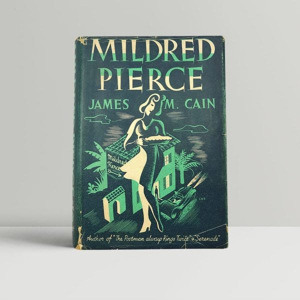 cain james m mildred pierce first uk edition 1943