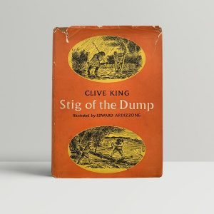 clive king stig of the dump first uk edition 1965