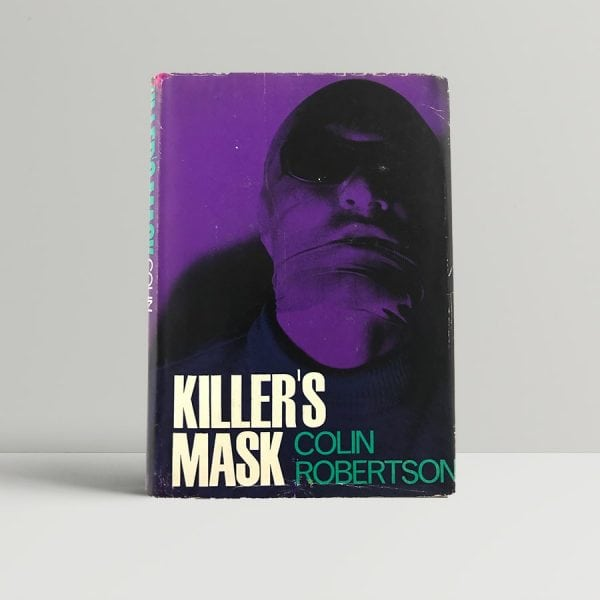 colin robertson killers mask first uk edition 9962