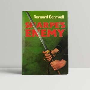 cornwell bernard sharpes enemy first uk edition signed
