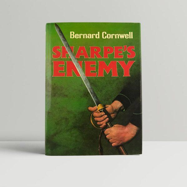 cornwell bernard sharpes enemy first uk edition signed