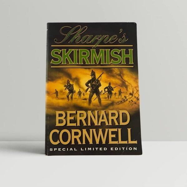 cornwell bernard sharpes skirmish first uk edition 1999