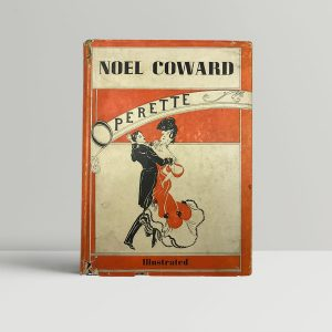 coward noel operette first uk edition 1942 signed
