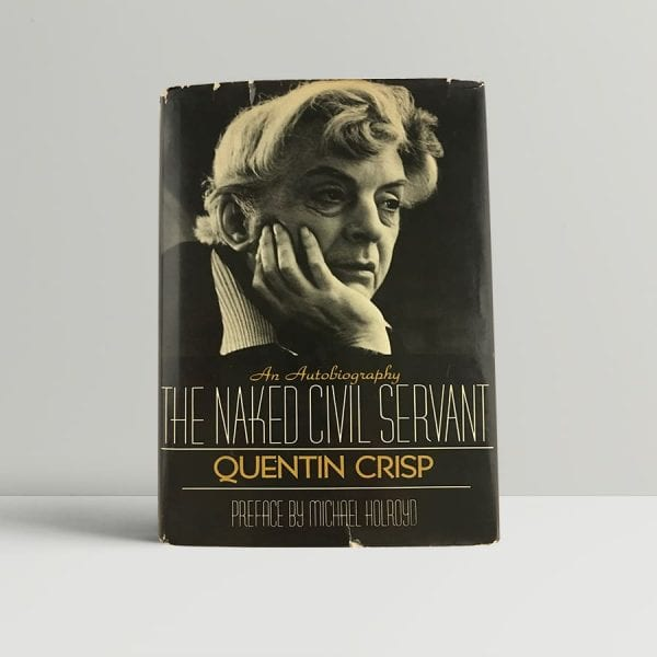 crisp quentin the naked civil servant first us edition signed