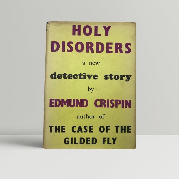 crispin edmund holy disorders first uk edition 1945