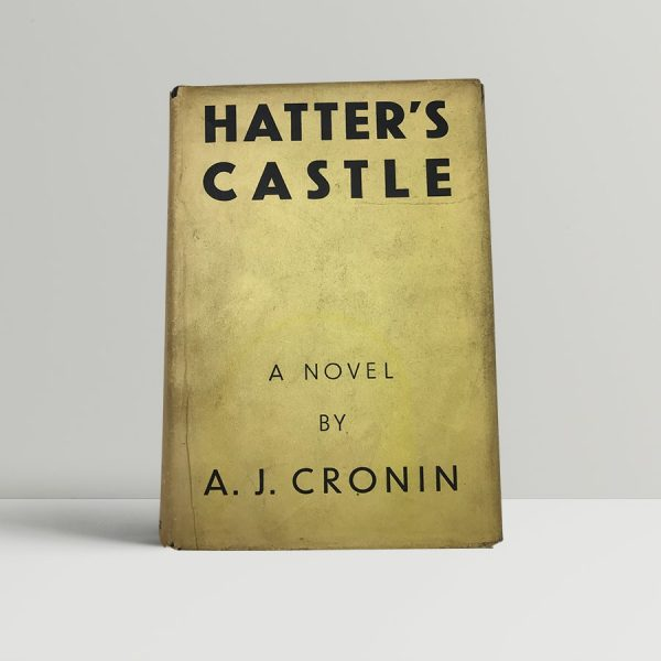 cronin a j hatters castle first uk edition 1931