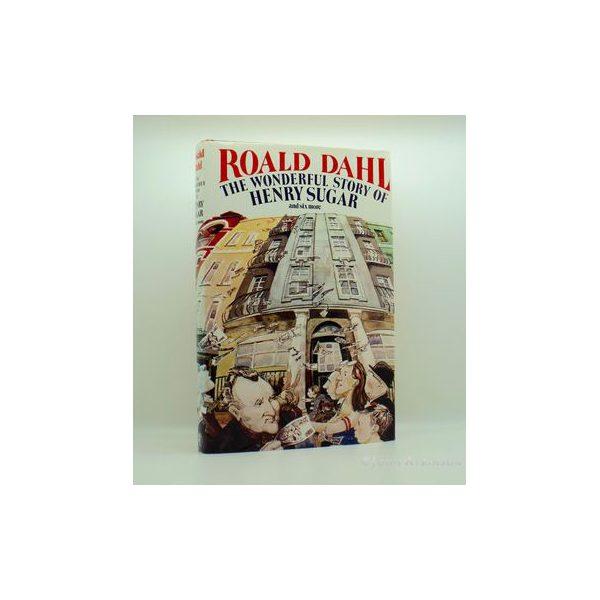 dahl roald the wonderful world of henry sugar signed uk edition 1987 1