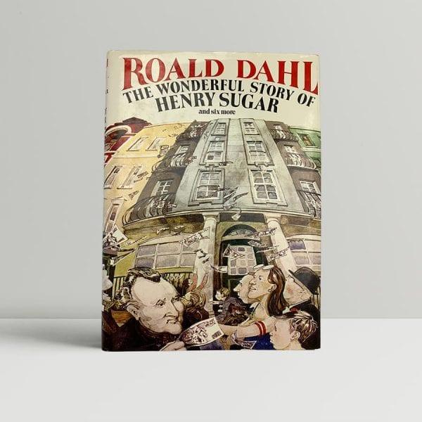 dahl roald the wonderful world of henry sugar signed uk edition 1987