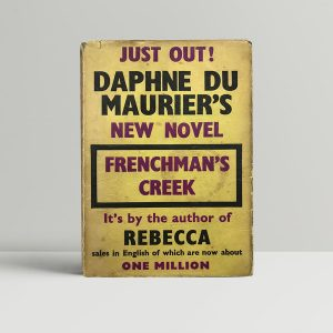 daphne du maurier frenchmens creek first uk edition 1941