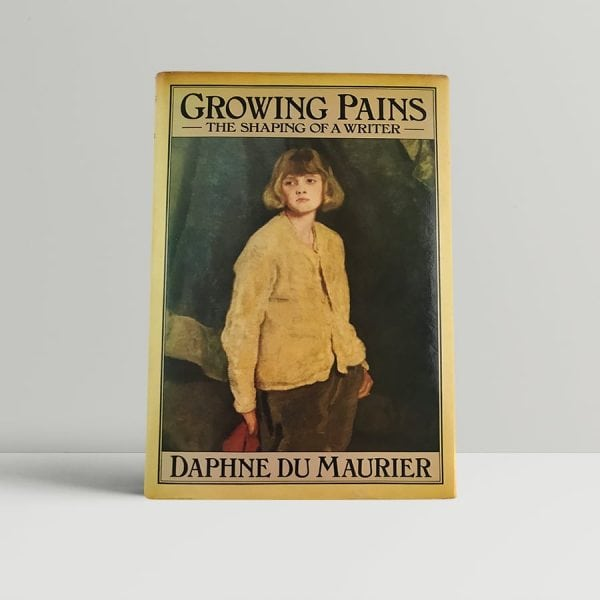 daphne du maurier growing pains first uk edition 1977 signed
