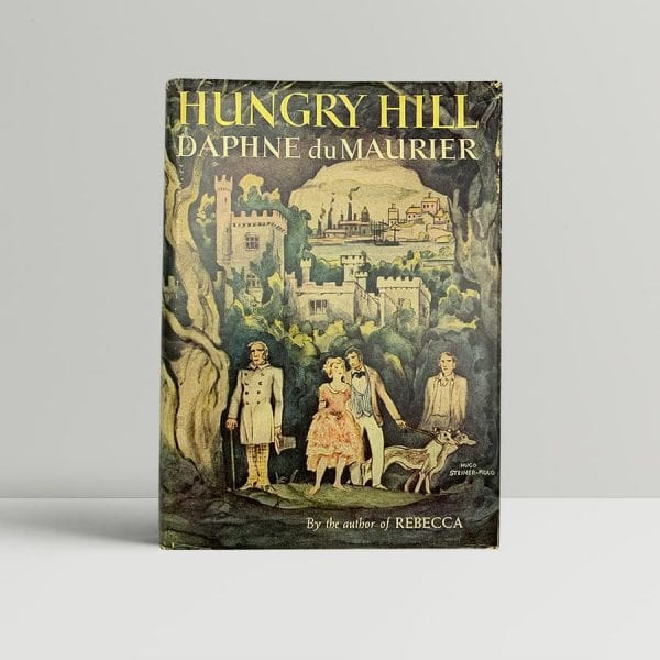 daphne du maurier hungry hill first us edition 1943 signed and inscribed