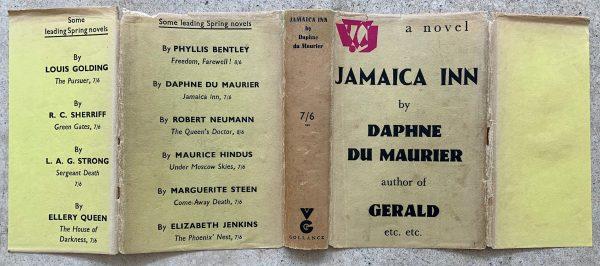 daphne du maurier jamaica inn first uk edition 1936 signed img 8515