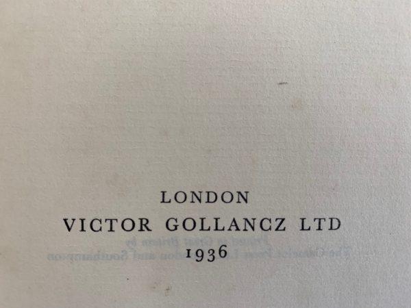 daphne du maurier jamaica inn first uk edition 1936 signed img 8518