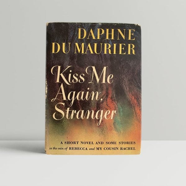 daphne du maurier kiss me again stranger first us edition signed img 2878