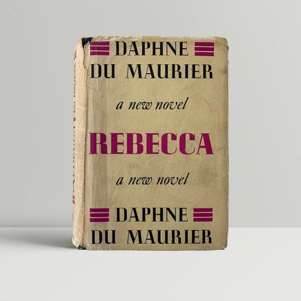daphne du maurier rebecca first uk edition 1938 11490