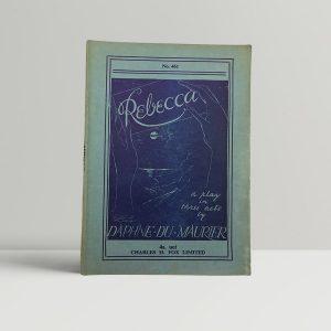 daphne du maurier rebecca first uk edition play 1939 10171