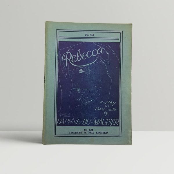 daphne du maurier rebecca first uk edition play 1939 10171