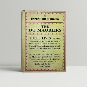 daphne du maurier the du mauriers first uk edition 1937
